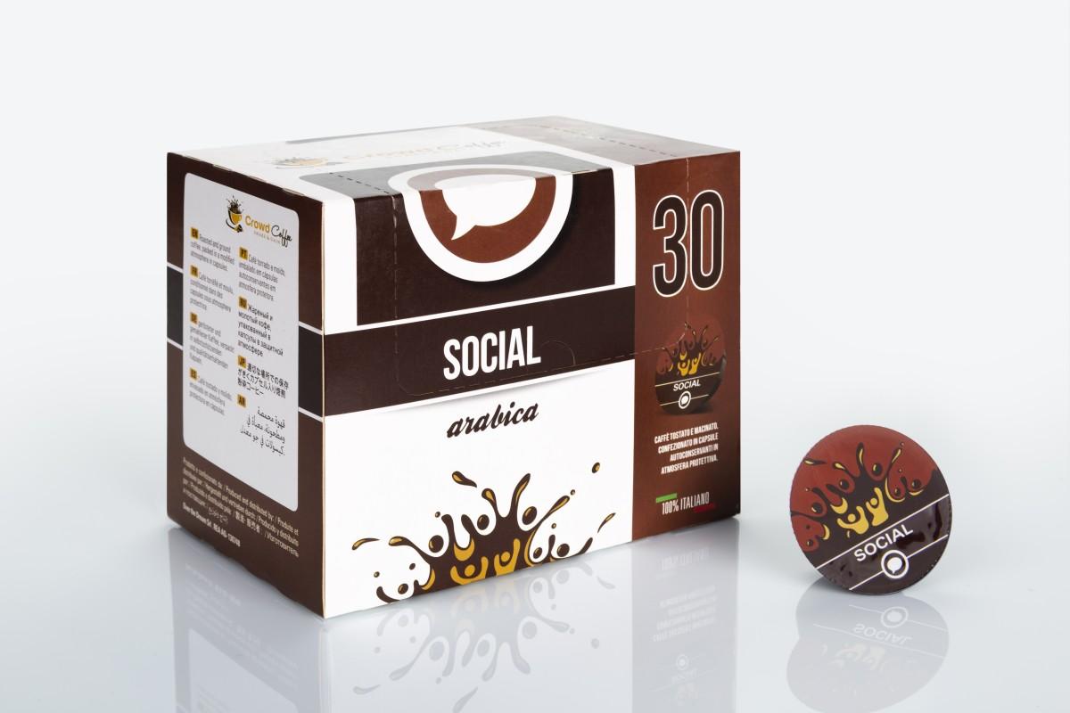 social - CAFE - ARABIGO